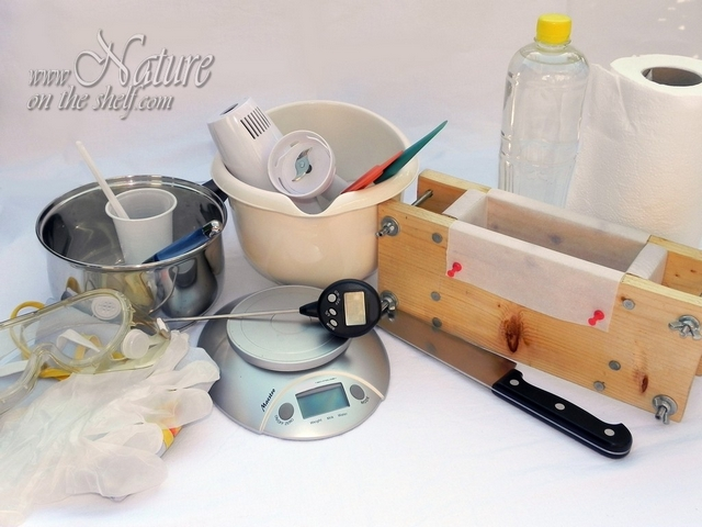 Basic soap making equipment