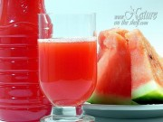 Frozen watermelon juice