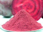 Homemade beet root powder